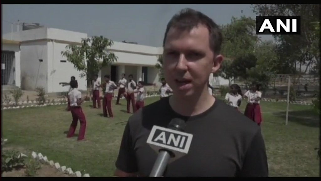 We are trying to improve their mind, help them develop independent strong minds & for this we are doing 'karate', which will help improve their confidence & concentration: Soren, Martial arts trainer