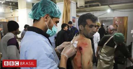 Médico relata como é sua luta diária para salvar vítimas em meio à destruição da guerra civil síria: 'Ficaremos até o fim' https://t.co/ra6tfRBTz3