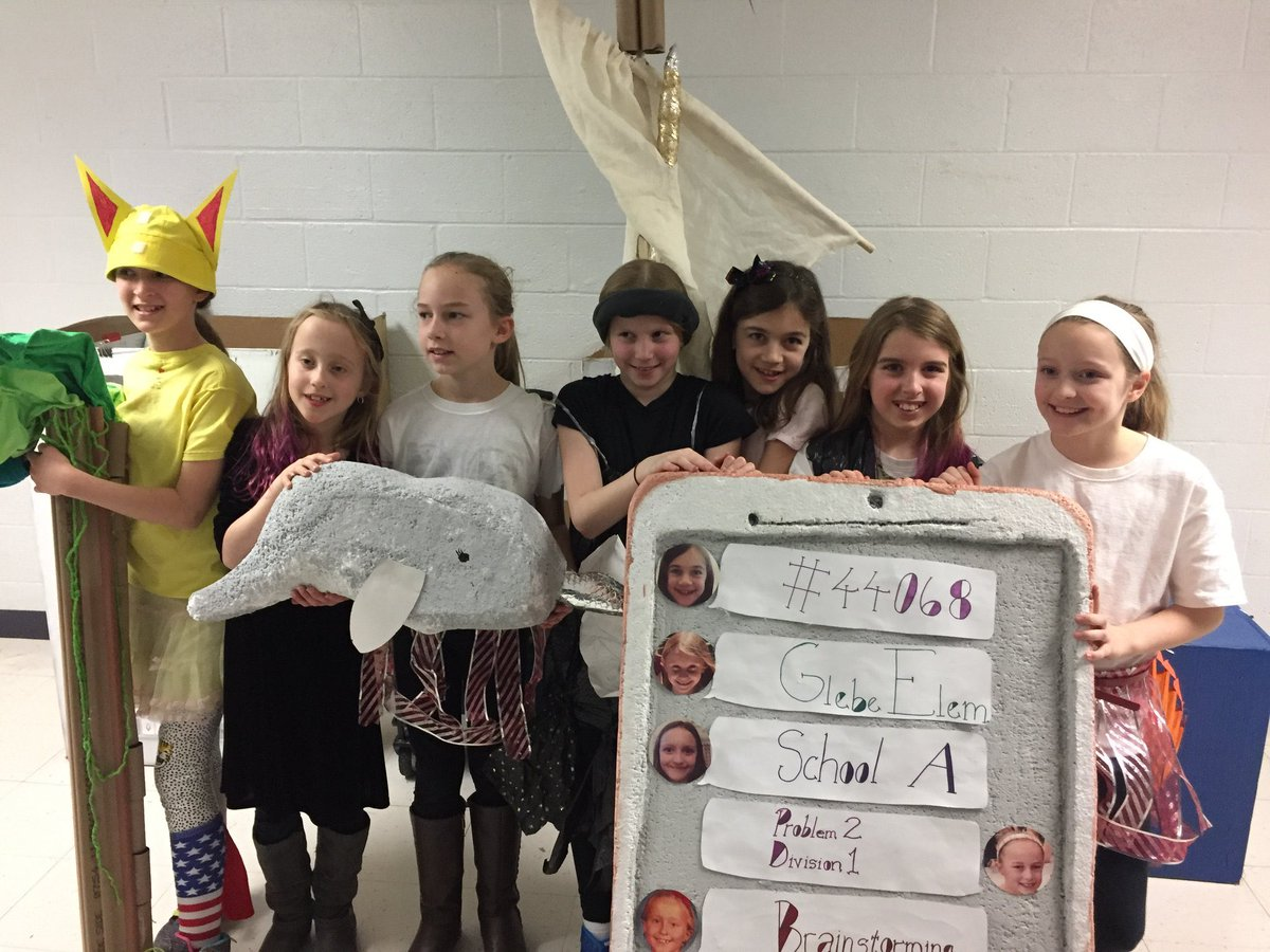Congratulations to all the Odyssey of the Mind teams, our fourth grade team is advancing to the State competition with Emoji, Speak for Yourself.  We are very proud of these girls! <a target='_blank' href='http://search.twitter.com/search?q=Glebersrock'><a target='_blank' href='https://twitter.com/hashtag/Glebersrock?src=hash'>#Glebersrock</a></a> <a target='_blank' href='http://twitter.com/APSVirginia'>@APSVirginia</a> <a target='_blank' href='http://twitter.com/glebepta'>@glebepta</a> <a target='_blank' href='https://t.co/9yNmGNOyXO'>https://t.co/9yNmGNOyXO</a>
