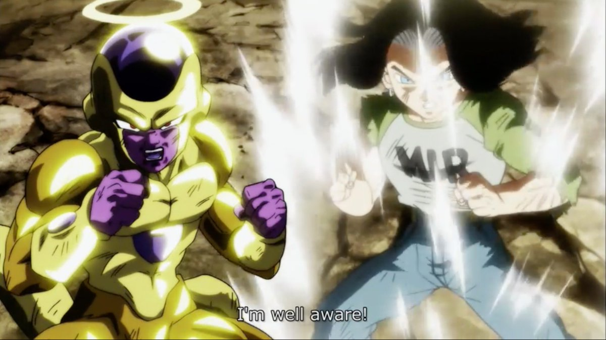 17 and Freeza working together is actually really cute!