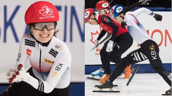 2018 평창동계올림픽 2관왕에 빛나는 한국 여자 쇼트트랙의 간판스타 최민정(성남시청)이 세계선수권에서도 2관왕에 올랐습니다. https://t.co/B0xmLqG2gF