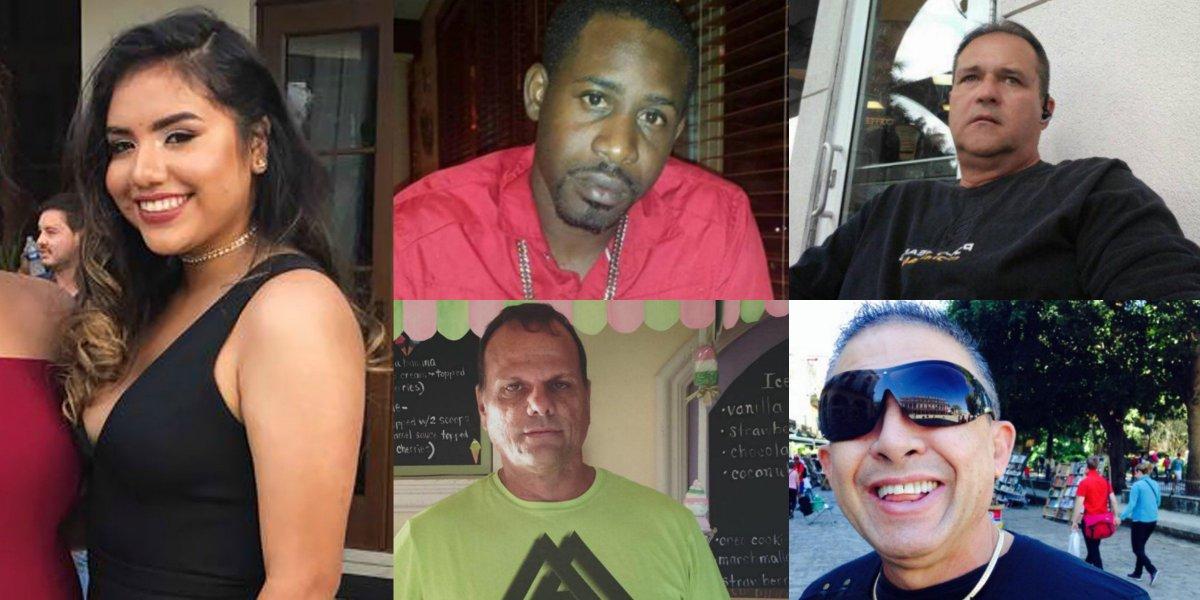 #FIUBridgeCollapse victims (identified so far): - Alexa Duran - Navaro Brown - Rolando Fraga - Alberto Arias - Osvaldo Gonzalez  RIP
