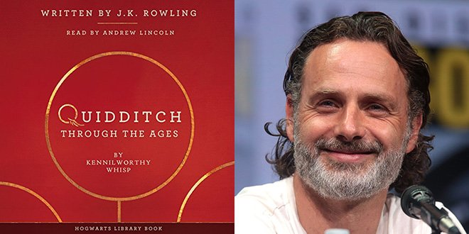 .@pottermore sat with Andrew Lincoln to discuss #QuidditchThroughtheAges and his favorite parts of the book. #jkrowling - mugglenet.com/2018/03/potter…