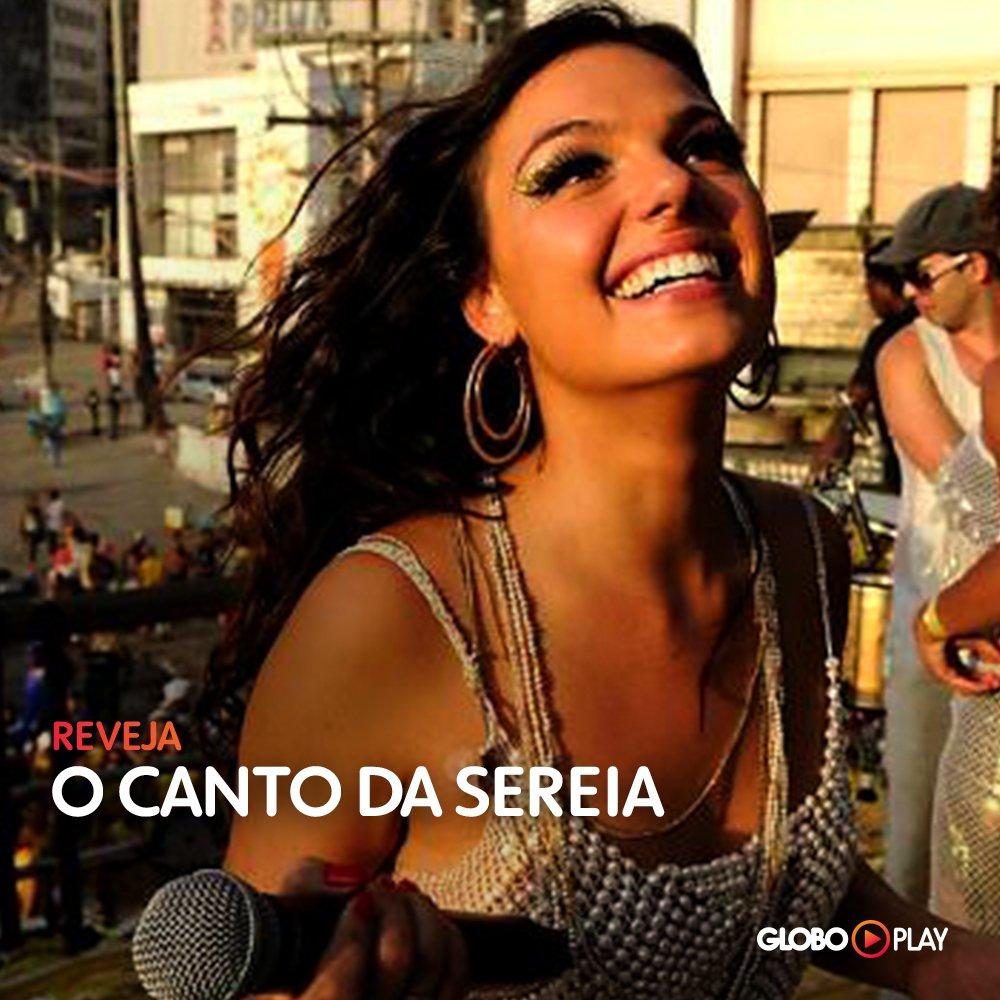 Aquela voz que sempre vai encantar a gente 😍 Clique https://t.co/yU1J9q4Mb7 e mate a saudade de #OCantoDaSereia, em versão filme, no #Globoplay 😉  * Exclusivo para assinantes.