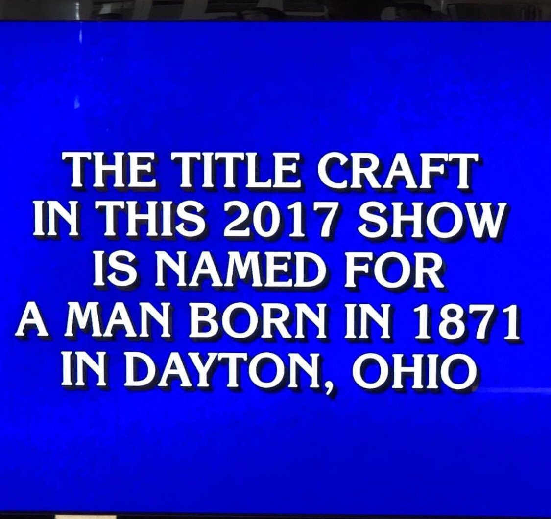 It's never real until it's on Jeopardy.