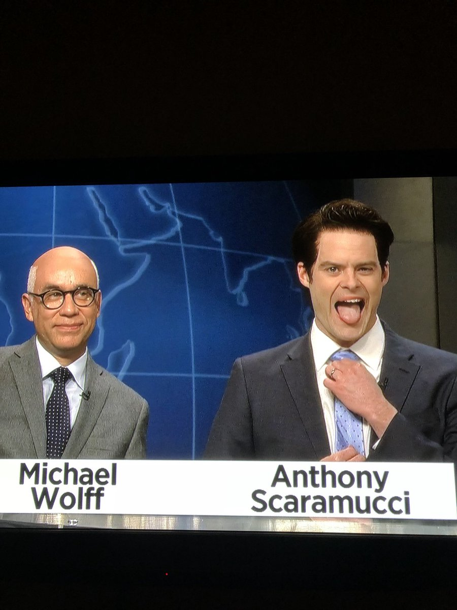 Wait?! Where do I get a hold of that tie?! @nbcsnl