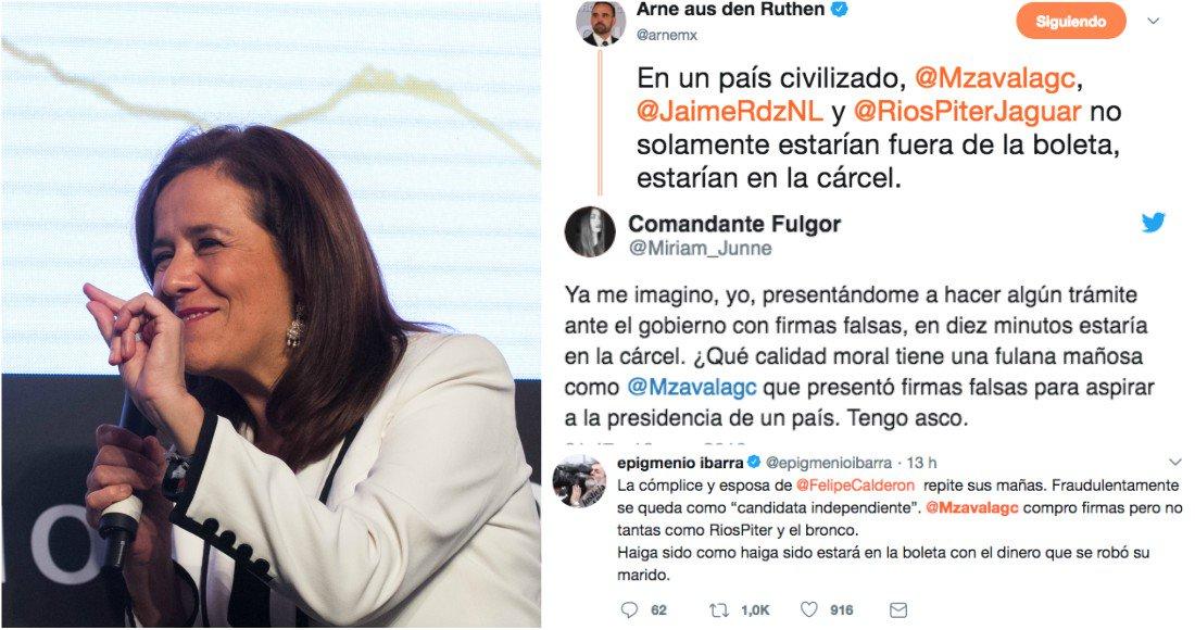El INE perdona a Margarita más de 219 mil firmas falsas, y llueve el reclamo ciudadano en redes https://t.co/Xq20d7UVfN