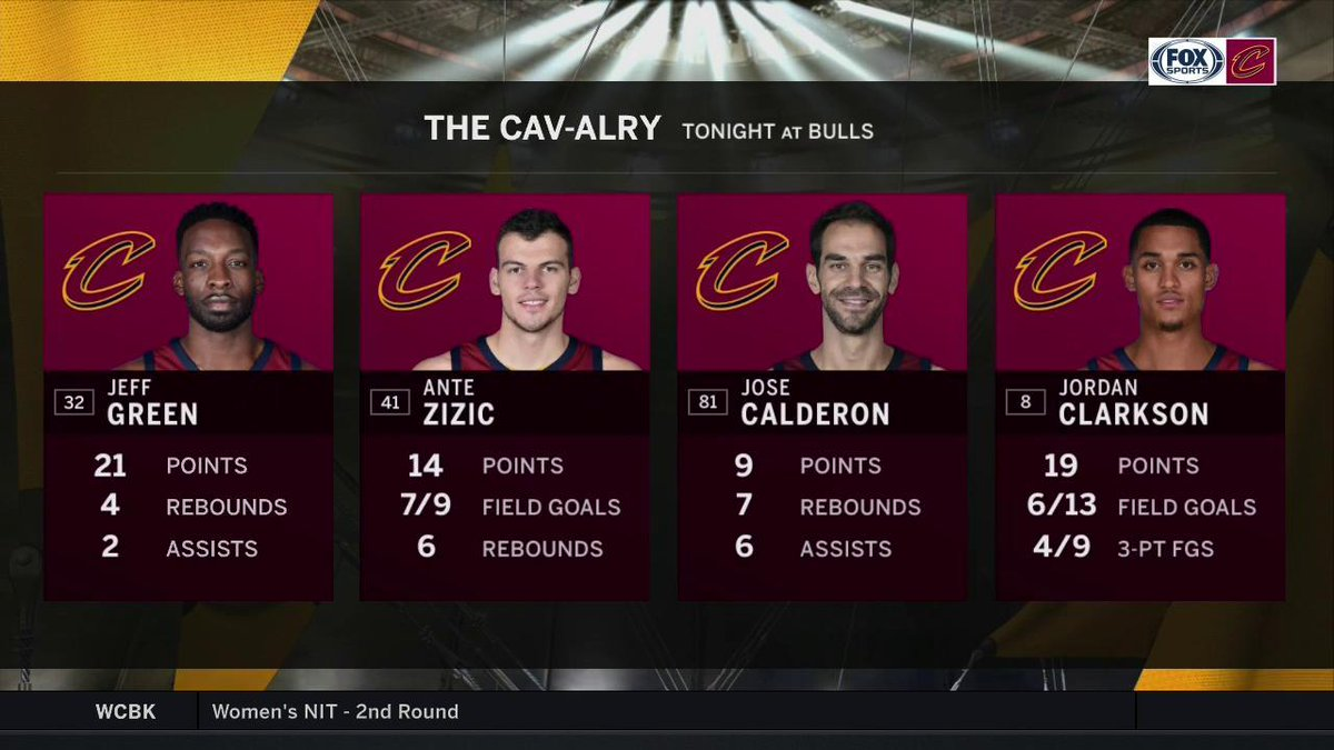 The Cav-alry arrived in Chicago last night. #AllForOne