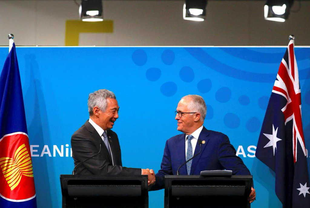 Australia, Southeast Asian summit ends with rebukes against trade protectionism https://t.co/DRIojJoRY7 https://t.co/aP6vPsQZRu