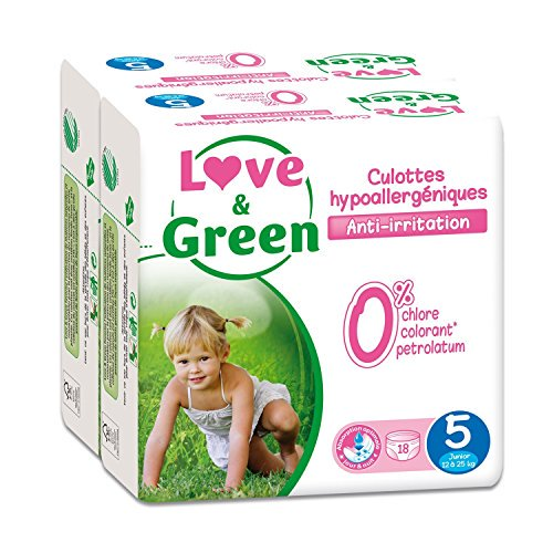 Love & Green – Pack de 18 Culottes H...