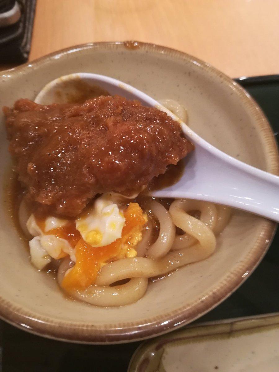 カツカレー鍋うどん https://t.co/apjJSXIn9u