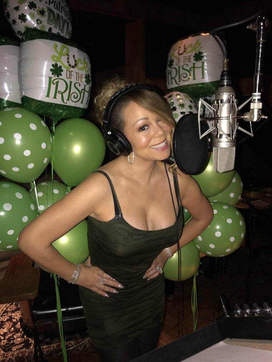 Pon de studio 📝 Happy St. Patrick's Day! 🍀😘❤️