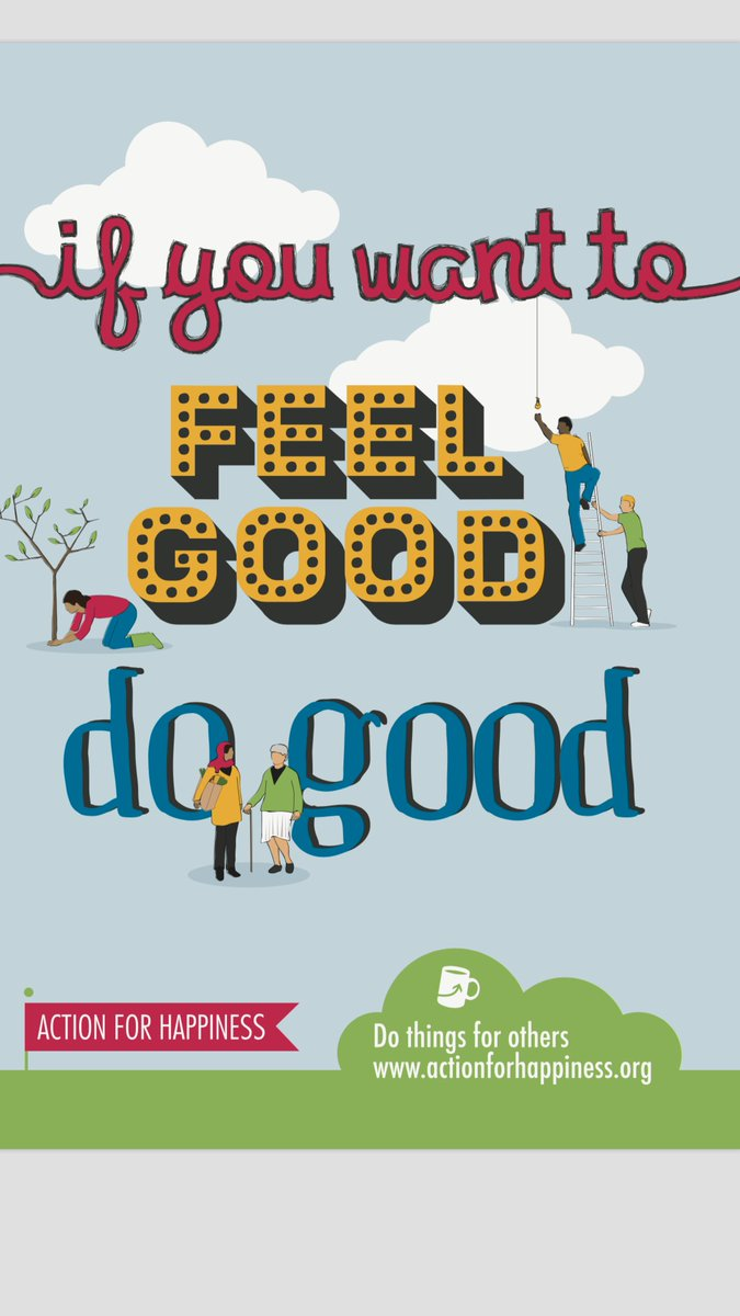 If you want to FEEL good... DO good...@actionhappiness