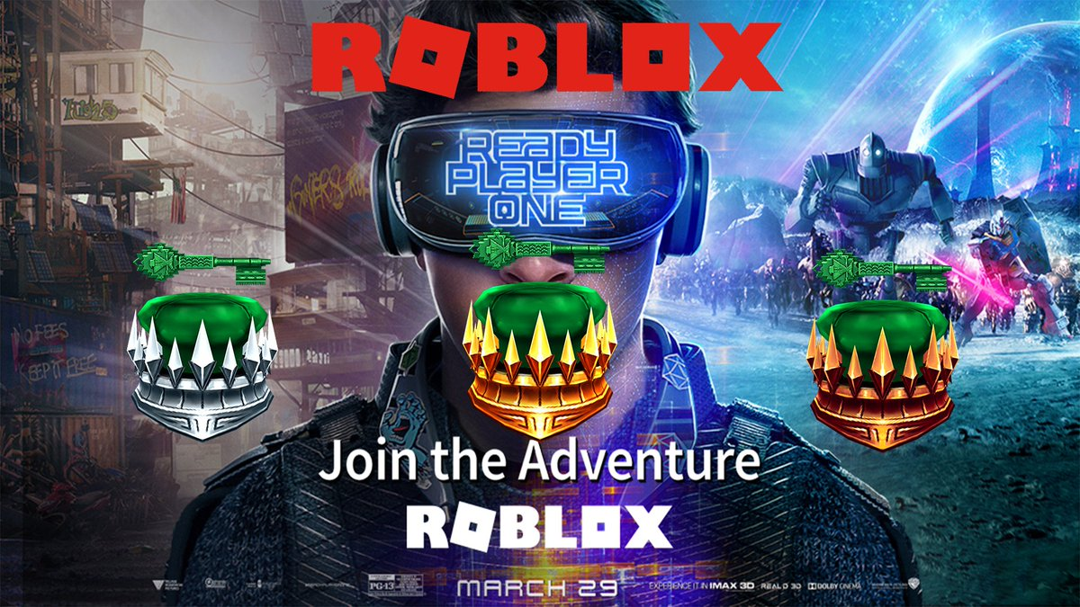 ready player one roblox event ready player one roblox event