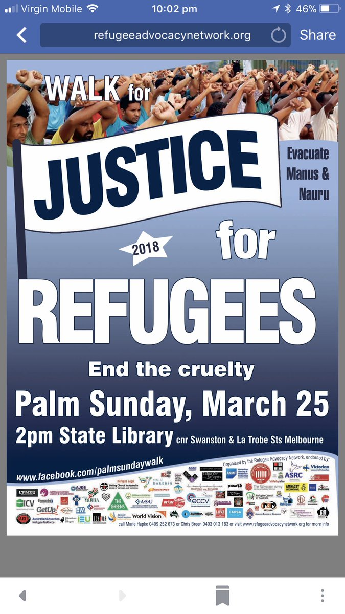Don't forget #PalmSunday justice for #re...
