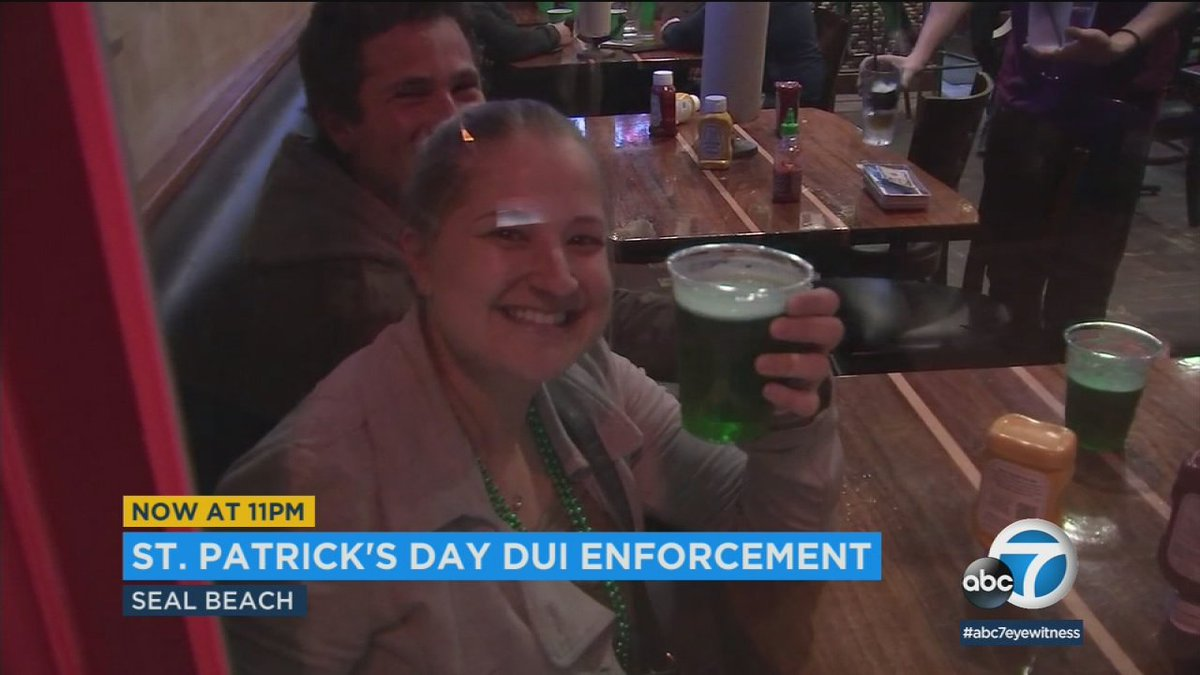 Authorities urge St. Patrick's Day revelers not to drink and drive https://t.co/sU1TgmVVpK