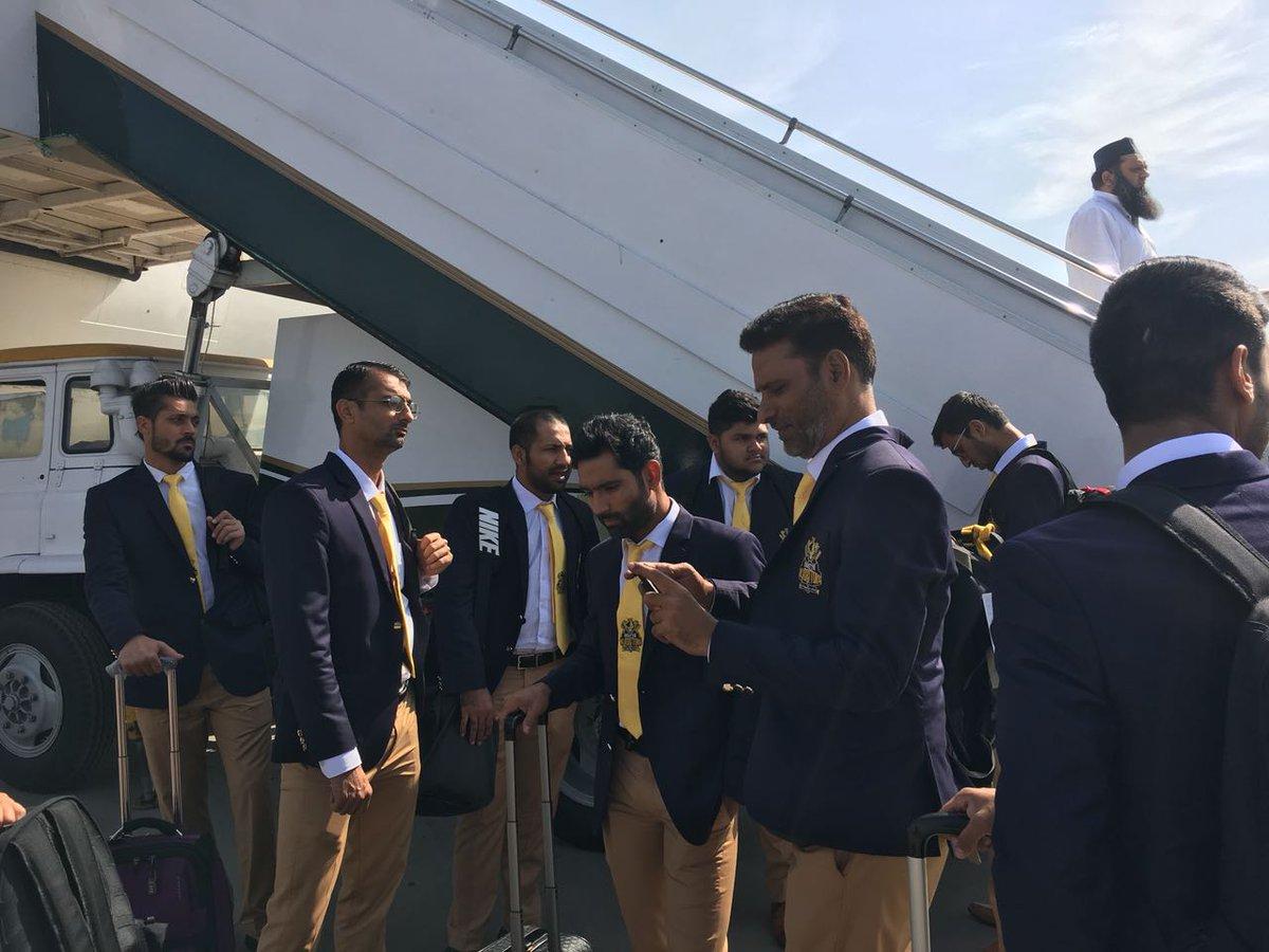 .@TeamQuetta and @PeshawarZalmi squads a...