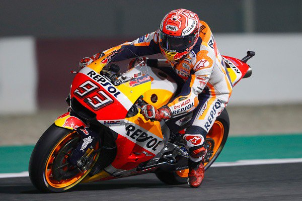 MotoGP初戦、カタールGPはいよいよ本日決勝です🏁マルク・マルケス選手は2番手のフロントロースタート。実は、Hondaは現在ロードレース世界選手権通算748勝、750勝目前なんです!!ご声援を、よろしくお願いいたします😄 予選レポート:https://t.co/pAfX0NHsP9