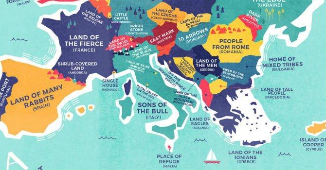 Il significato originale dei nomi delle nazioni. Le mappe https://t.co/ZNHn59TA2m