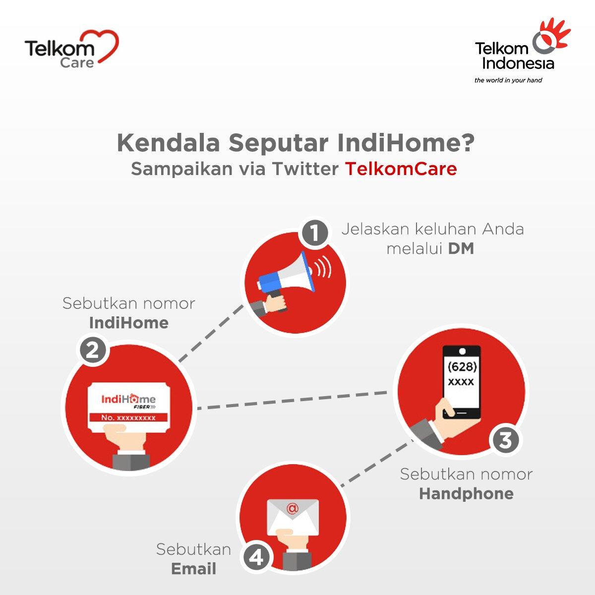 Telkom Indonesia On Twitter Bingung Cara Menyampaikan Keluhan Seputar Produk Indihome Kirimkan Pesan Sobat Via Direct Message Twitter Telkomcare Https T Co 9trgvanved Dengan Mengikuti Langkah Berikut Https T Co Er3ejkq7jk
