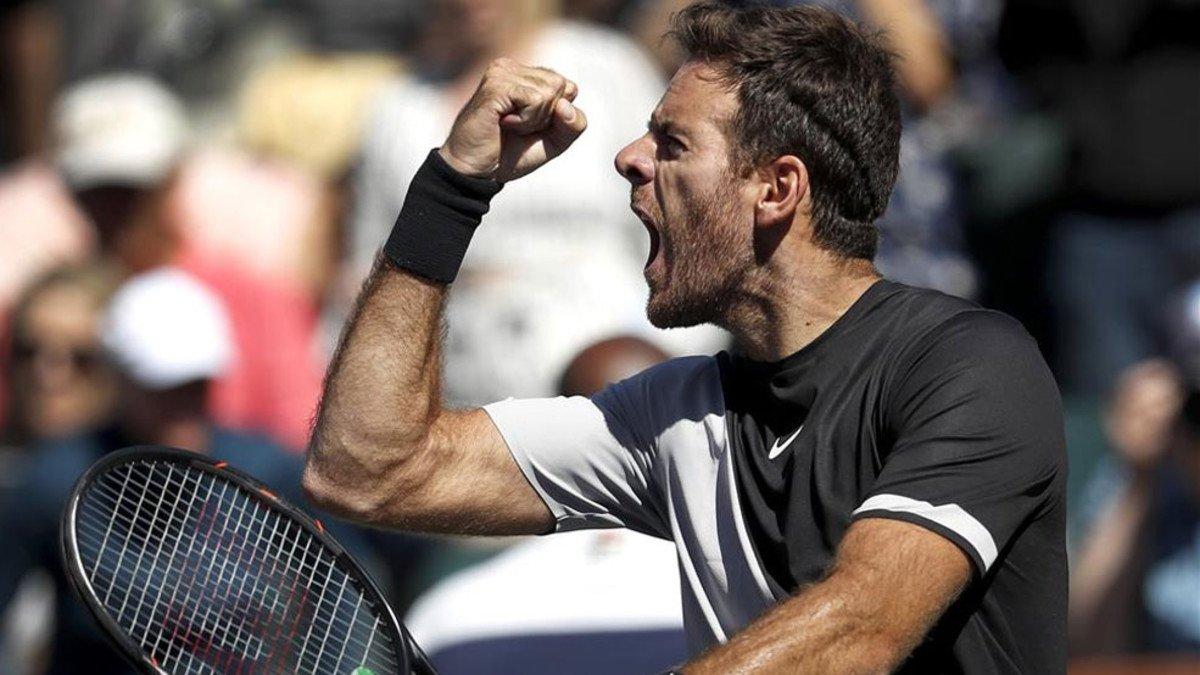 #IndianWells Federer y Del Potro se cita...