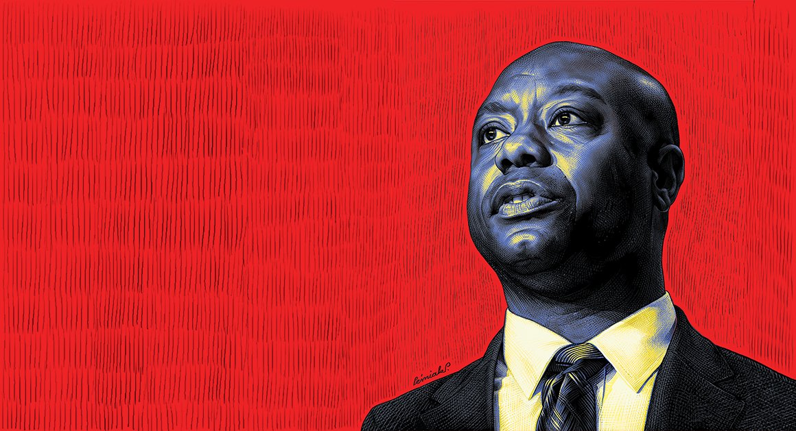 Tim Scott is the most prominent African-American Republican in America. In the Trump era, that's no easy thing https://t.co/bChFfWeD6E
