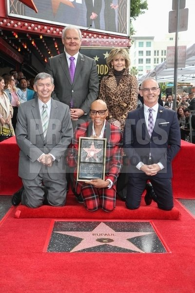 RuPaul Honored with a Star on the Hollyw...
