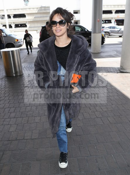 Camila Cabello Sighted at LAX Airport in...