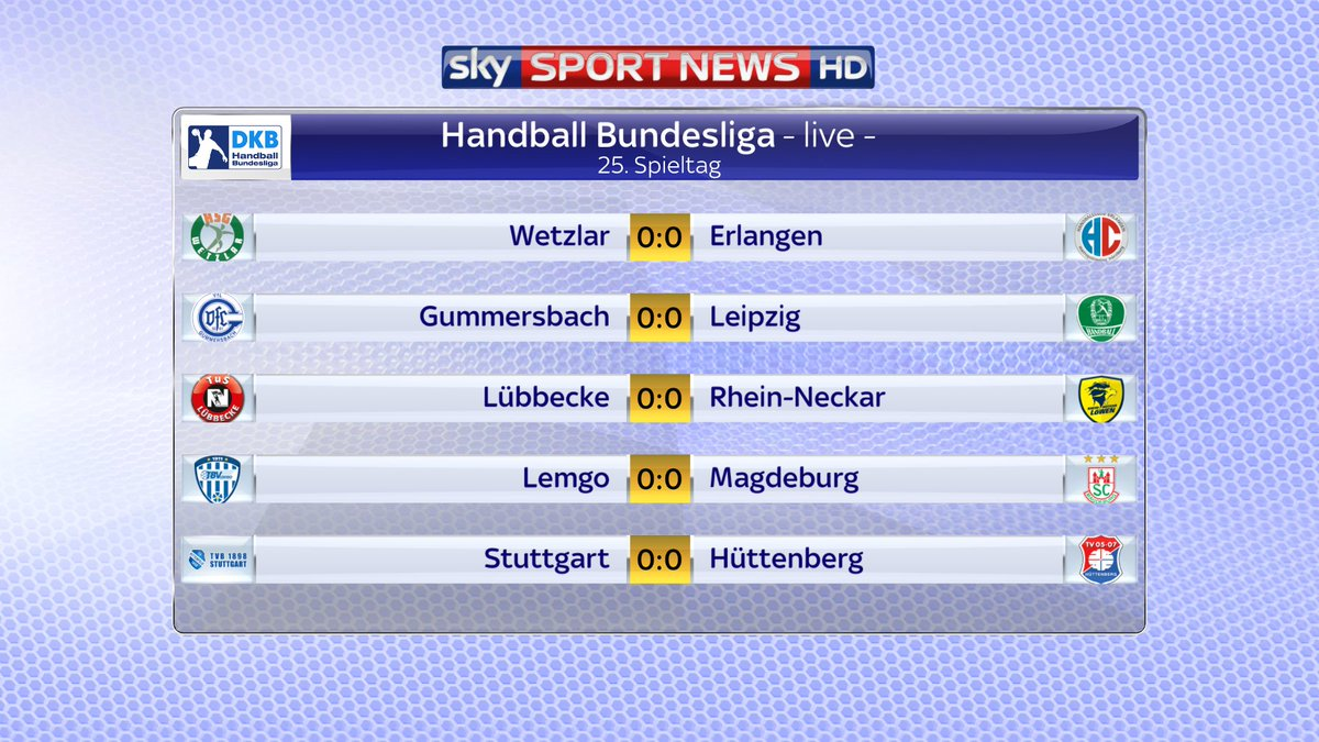 Los geht's in der Handball-Bundesliga!...