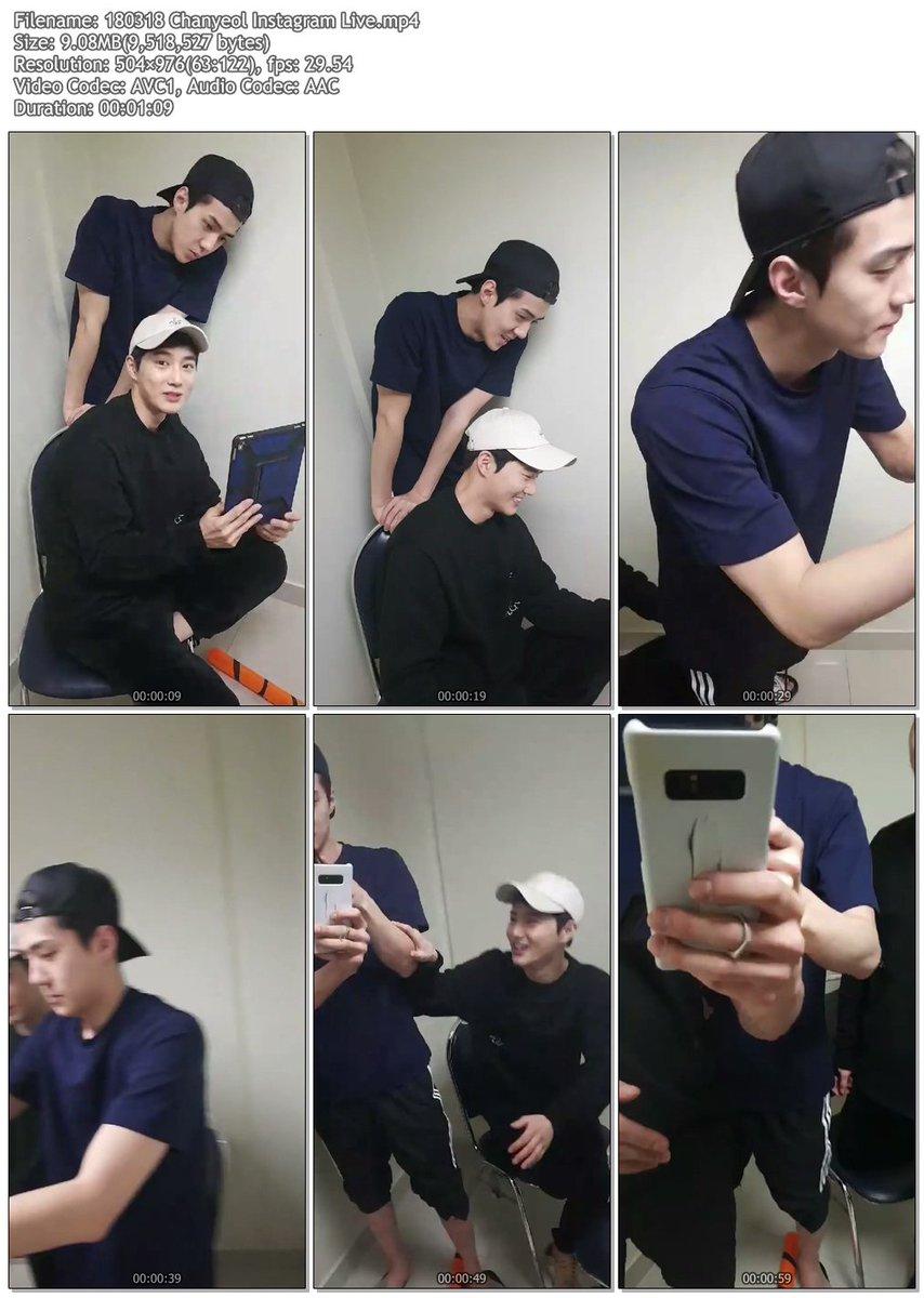 180318 Chanyeol Instagram Live .mp4 http...