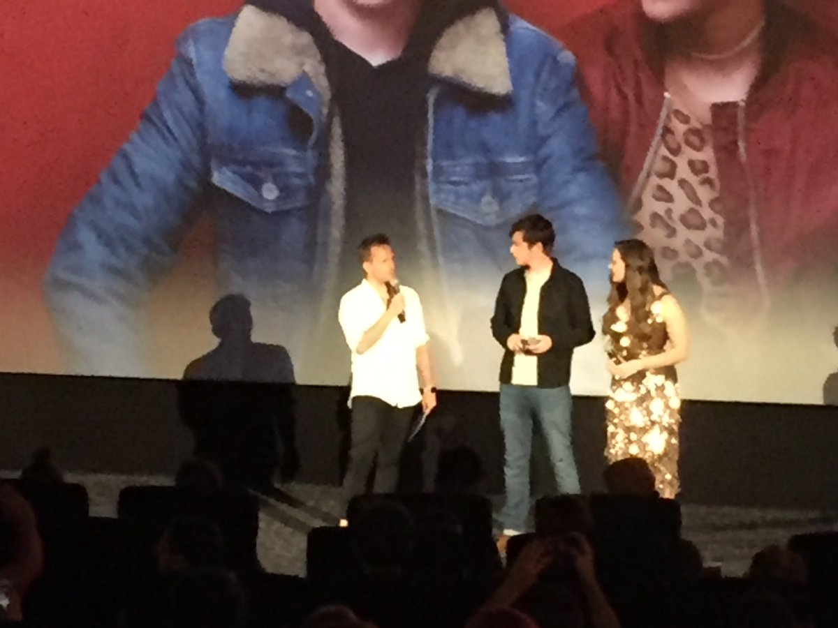 Nick Robinson and Katherine Langford at...