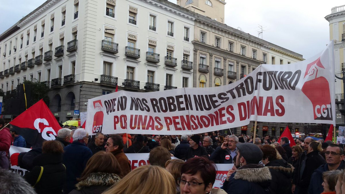 Resultado de imagen de pensiones dignas cgt