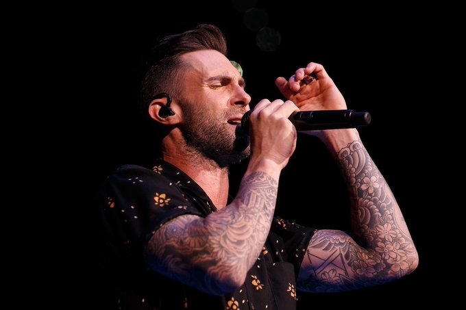 Happy birthday to Adam Levine from Maroon 5! We\ll see him here in Tampa on tour June 16.