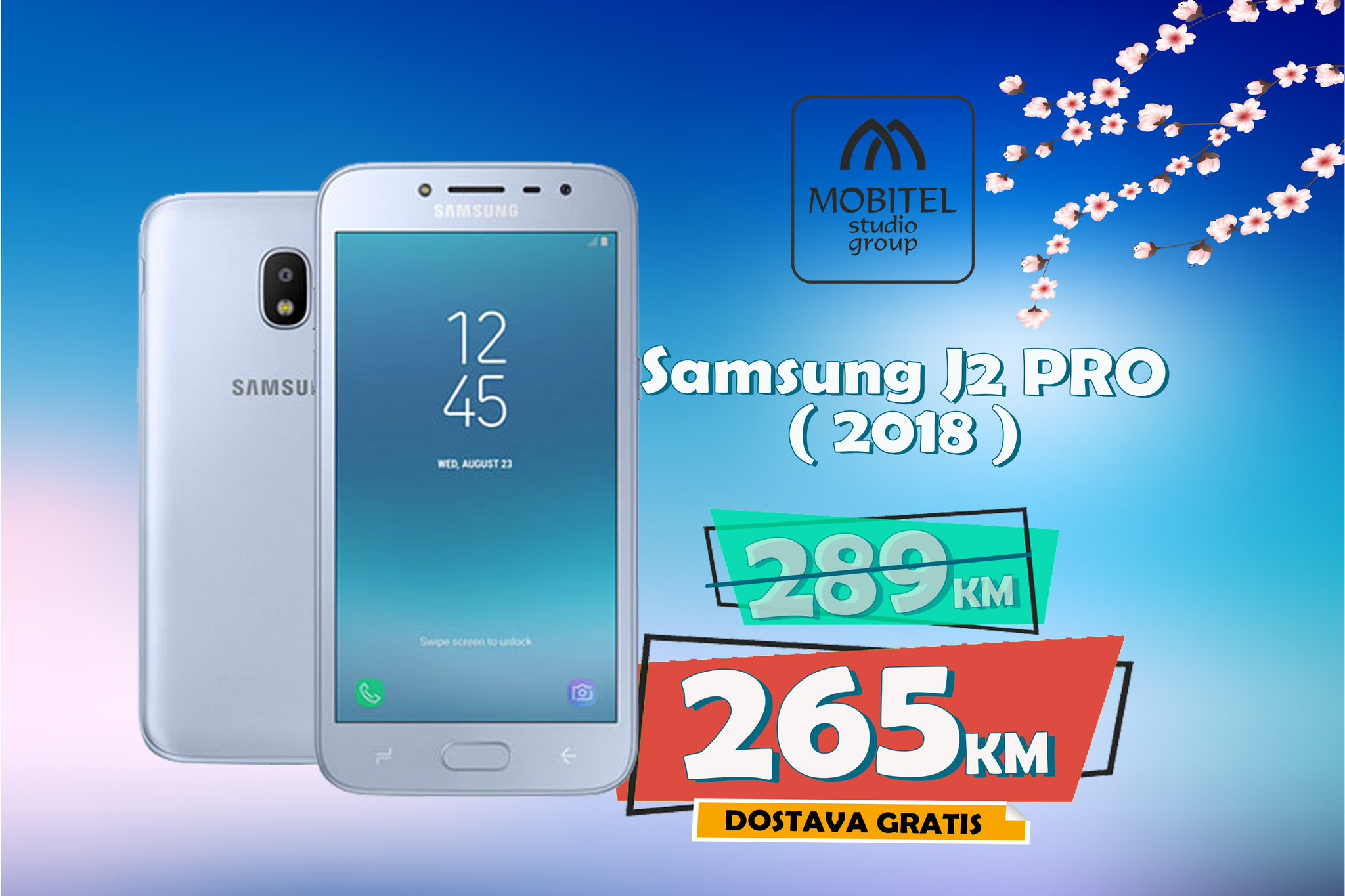 """Mobitel Studio on Twitter """"🚨 Samsung Galaxy J2 PRO 2018 Od sada kod nas potražite Samsung J2 PRO koji će vas oduševiti sa svojim karakteristikama"""
