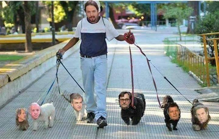@albeguren Sacando a los perros flautas...