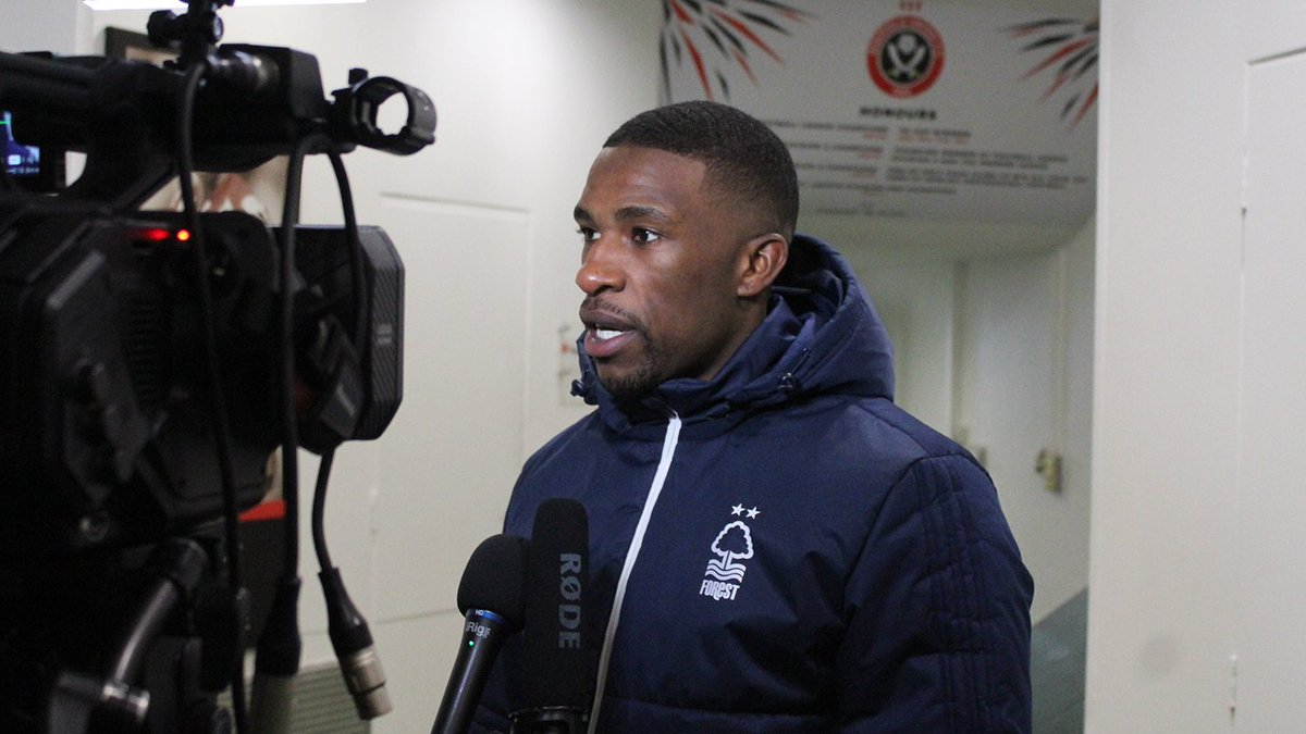🎥 iFollow Forest subscribers can now watc @TendayiDarikwah 's post-match interview following the 0-0 draw  @SUFC_tweetsat . https://t.co/Uglc5c0jJ5  #ThatLovingFeeling➡️