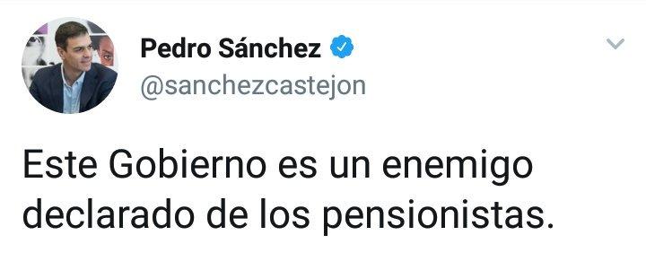 El señor @sanchezcastejon tiene algo que...