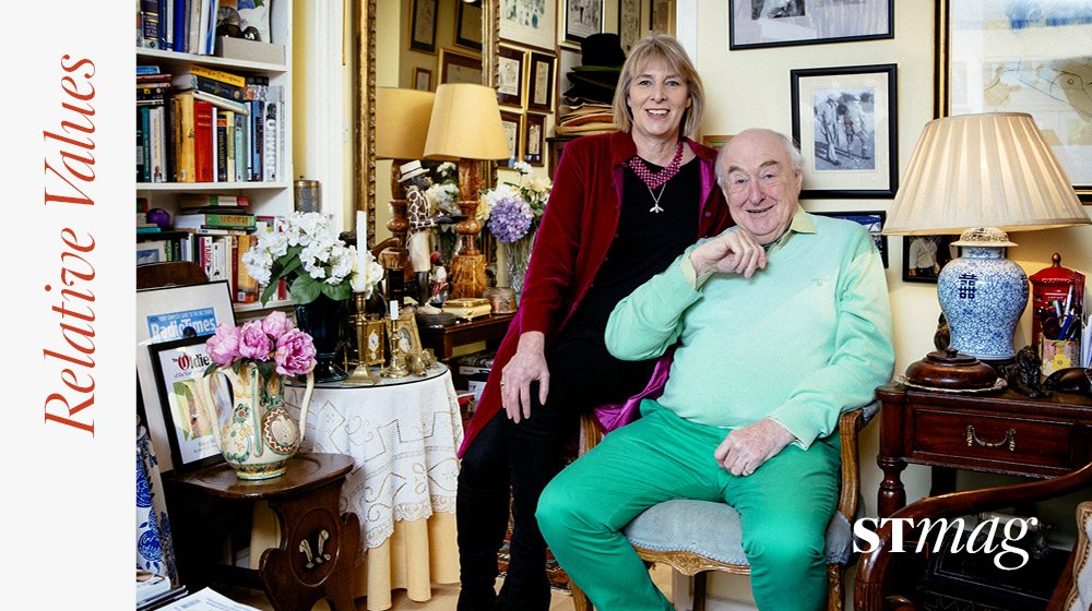 Relative Values: the cricket commentator and Henry Blofeld and his daughter Suki on rude nicknames, Bond villains and why they're both rebels @blowersh. Interviews by Danny Scott https://t.co/ZCDIG34OKD