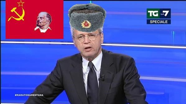 #ElezioniRussia #Mentana pronto per la d...