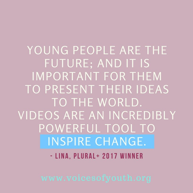 Entries are now open for the Plural+ 2018 youth film festival.  Get all the details here: ow.ly/z8Bd30iZoRR   With @Pluralplus