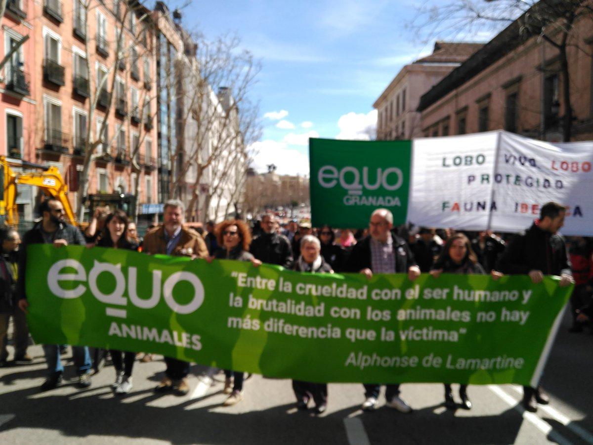 Madrid aúlla por el lobo, miles de perso...