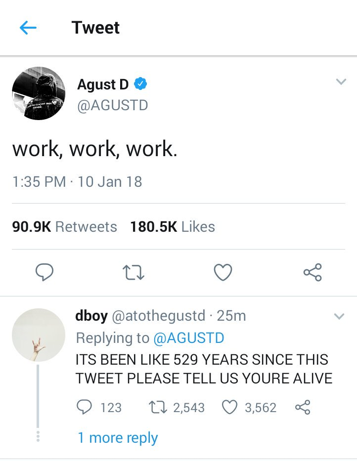 Thread By Peachpuffrm Namgi Au In Which Agust D Is A Famous