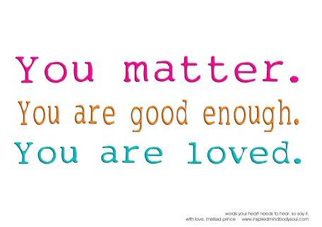 YOU are important! #YouMatter! #JoyTrain #Joy #Love #Peace #SelfLove RT @PrachiMalik