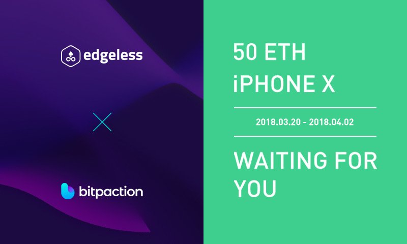 Edgeless is on @bitpaction now! Check this out!   $EDG #edgeless