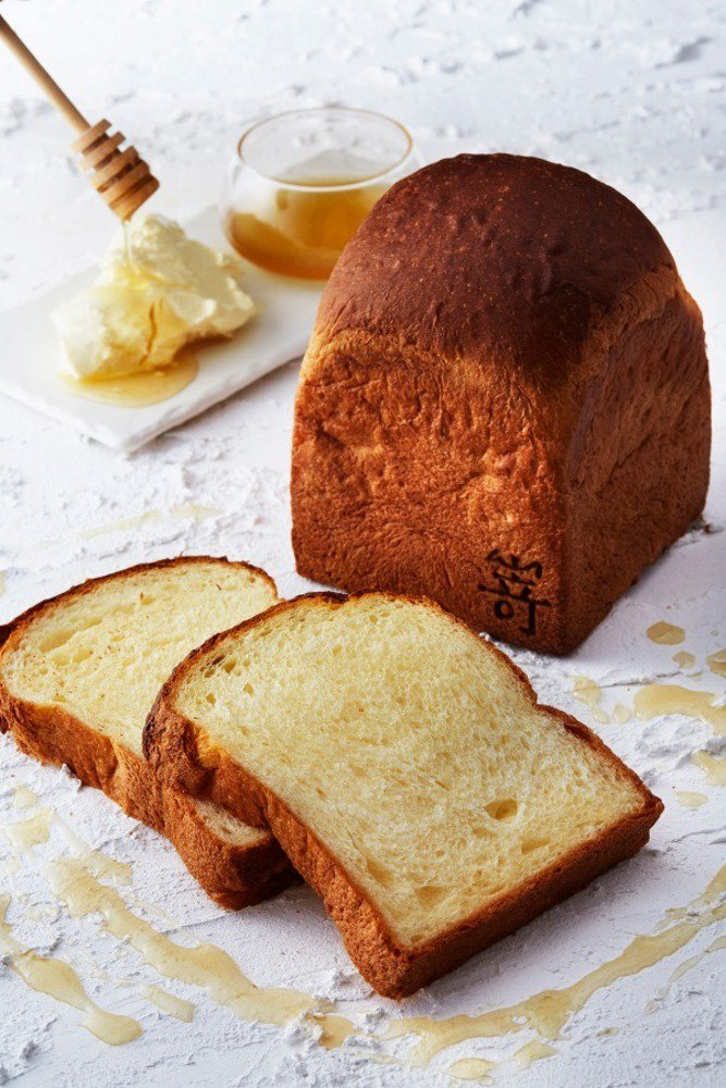 高級食パン専門店嵜本から、水曜限定「マスカルポーネと蜂蜜の食パン」耳まで甘く、柔らかな口当たり - https://t.co/SfIG0B1Wkd