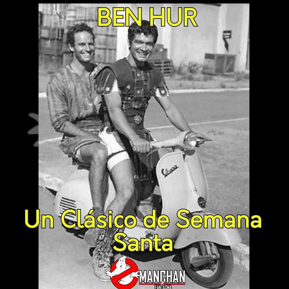 BEN HUR #manchanfantasma #FF #BuenDoming...