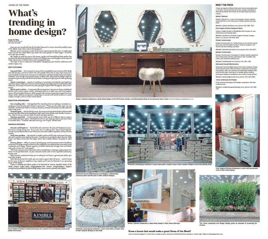 ICYMI I Spent Some Time With The Home And Garden Experts To See What S  Trending In Design Here Article Saturday Courierjournal Taylor Riley  TaylorRileyCJ ...
