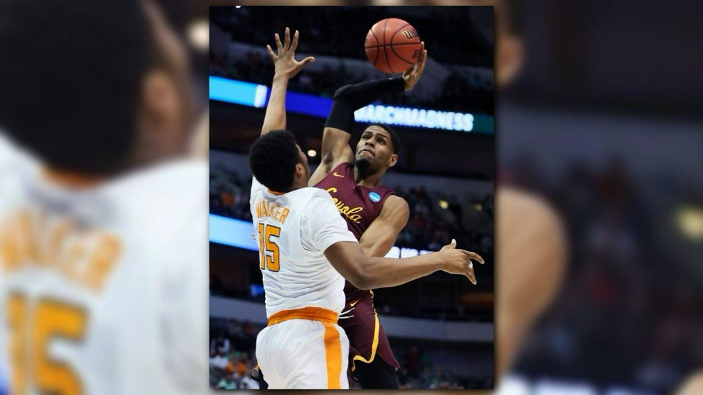 Loyola-Chicago's Cinderella run continues with upset of Tennessee for Sweet 16 berth https://t.co/OmaDu0SU0V