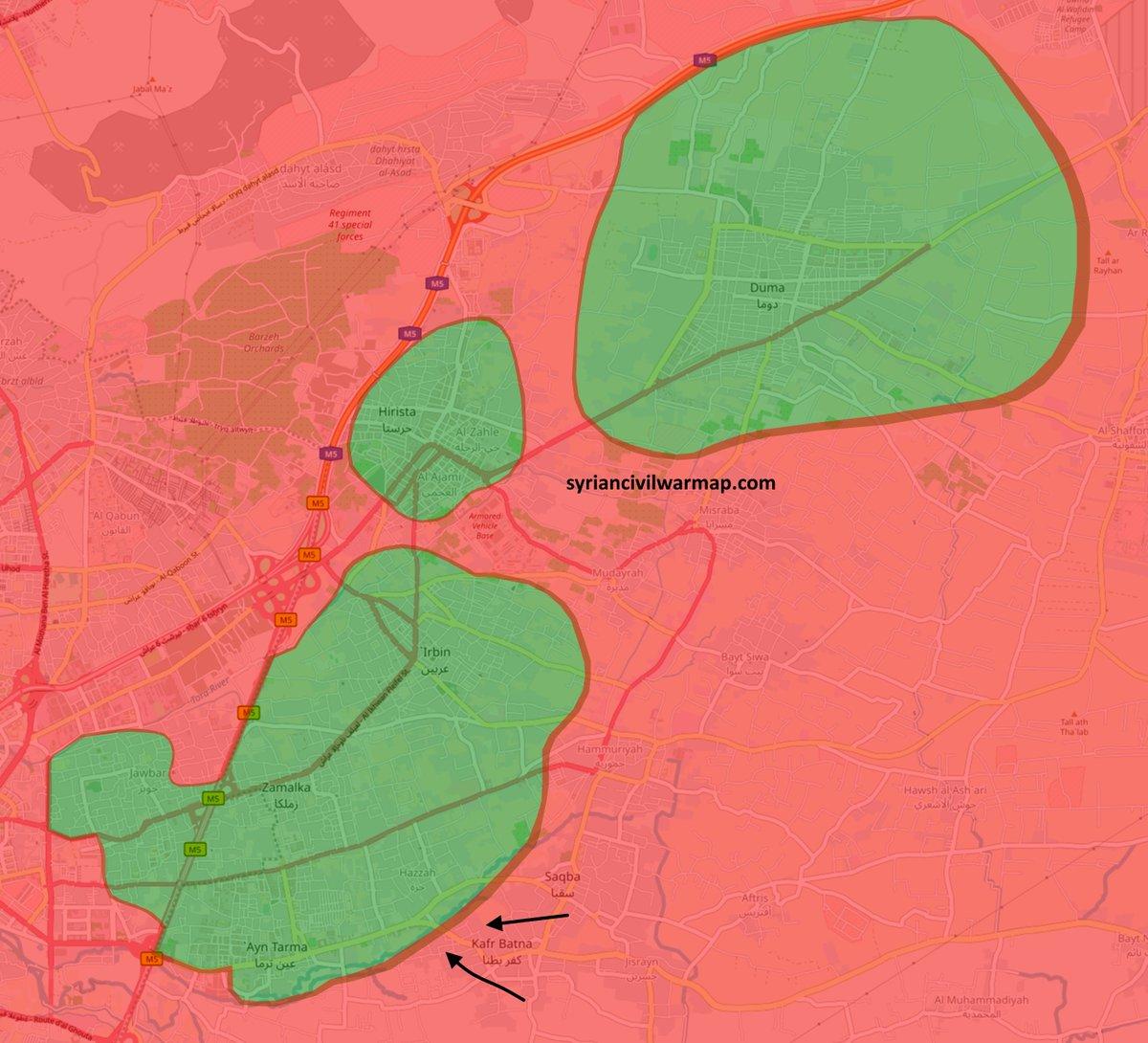 Syrian Civil War Map on Twitter: \