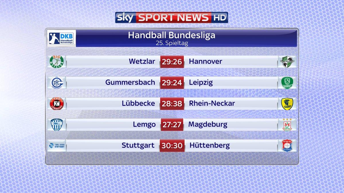 Schluss in der Handball-Bundesliga!  htt...